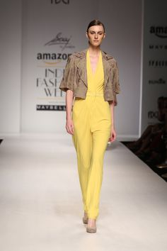 #AIFWSS16 #spring #summer #SAAJ #AnkitaChaudhry #FashionWeek #label  #silhouettes #details #linear #structure #color #clean #geometrical #accentuate #classic #elegant #intricate #patterns #embroidery #HandCrafted #details #luxurious #glamorous #YoungAtHeart #YoungInMind #YoungInSpirit #ethnicity #contemporary #feminine #intrinsic #sensuality #yellow #radiant #whimsical #joy #cool #flatter
