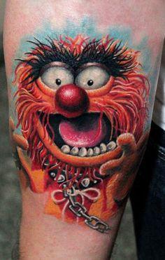 Tattoo Artist - Anabi Tattoo - Cartoon tattoo
