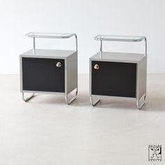 Bauhaus tubular steel cabinet