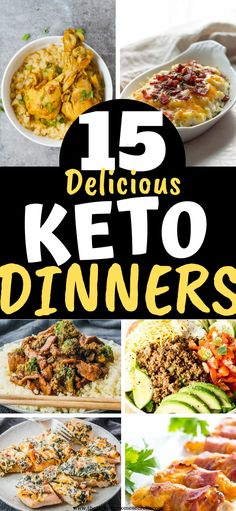 15 Easy Keto Dinners on a budget. Enjoy low carb dinners that are inexpensive and easy to make 15 Easy Keto Dinners on a budget. Enjoy low carb dinners that are inexpensive and easy to make Diet Lunch Ideas, Lunch Recipes, Low Carb Recipes, Dinner Recipes, Healthy Recipes, Low Carb Breakfast, Breakfast Ideas, Breakfast Recipes, Dinner On A Budget