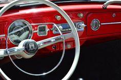 Armando Pinto, member of Brazilian Folks, Sao Paulo, Brazil.  1965 Ruby Red L54 VW Cabriolet. Issued in Brazilian magazine Fusca  CIA.