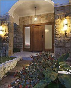model terbaru pintu rumah minimalis 2 pintu | desain