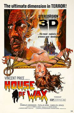 1953 - House Of Wax in 3D!!