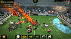 Today we have another game added to the Tizen Store from Herocraft Ltd, the creators of Zombie Derby 2, named FootLOL - Crazy Football.