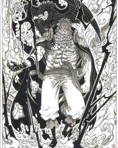Manga Anime One Piece, One Piece Fanart, Manga Art, Anime Art, Demon Drawings, Cool Drawings, Alien Character, Character Art, One Piece Deviantart