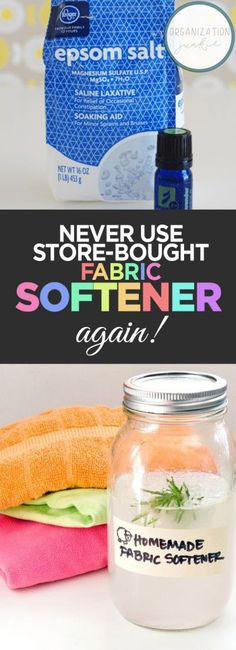 Never Use Store-Bought Fabric Softener Again!