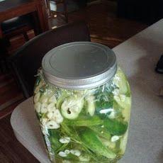 Kittencal's Easy Refrigerator Kosher Garlic-Dill Pickles Recipe