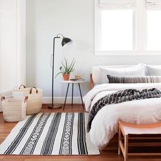 Black & Cream Throw Rug | Handwoven in Chile – The Citizenry