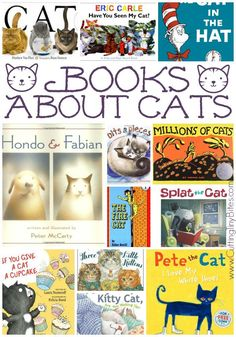 Books for children about cats.  Lots of selections, reviews of each.  You'll find some good ones on this list!