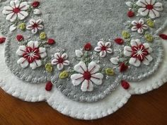 Wonderful samplers of felted mats