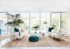 This stunning LA home is Palm Springs-inspired paradise via @stylelist | http://aol.it/1sFEA5W