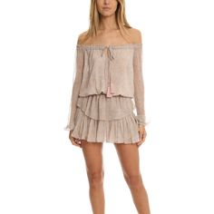 LoveShackFancy Popover Dress ($395) ❤ liked on Polyvore featuring dresses, home, women's, mini dress, going out dresses, short boho dress, silk dress and short dresses