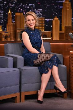 Rachel McAdams – At the Tonight Show with Jimmy Fallon in NY 23.07.15 (the grow out)