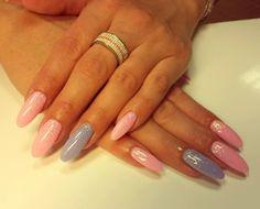 Gelové špičaté nehty | Nehtové studio Wendy