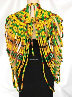 WUSULU NECKLACE African necklace African jewelry Ankara #AfricanStyle