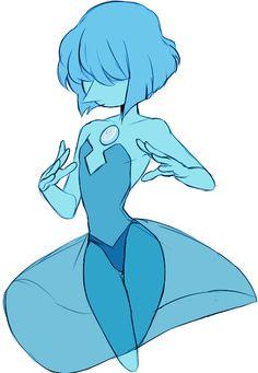 blue pearl steven universe - Buscar con Google