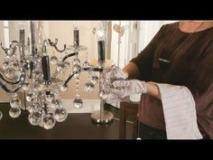 Easy Crystal Chandelier Cleaning Tips - YouTube