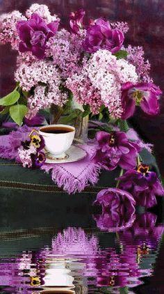 ***** Tea & Lilacs`