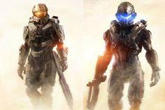 Halo 5: the Chief & Locke