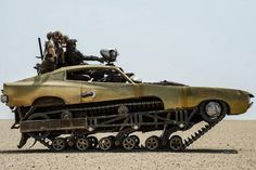 The War Rig from 'Mad Max: Fury Road' - Photos - Mad Max cars: The post-apocalyptic rides of 'Mad Max: Fury Road' - NY Daily News Mad Max Fury Road, Max Black, Robert Mcginnis, Art Pulp Fiction, Post Apocalyptic, Apocalyptic Movies, Dieselpunk, Military Vehicles, Monster Trucks