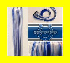 Black to royal blue to purple three colors ombre hair extension black to royal blue to purple three colors ombre hair extension synthetic clip in hair extensions uf204 my style pinterest ombre hair extensions pmusecretfo Images