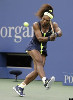 Serena Williams~now that is a brick house~sa~LUTE!