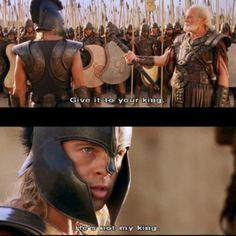 Troy----I Loved His Ways In This Movie,,,, He was his own Man ,,,,D.H.