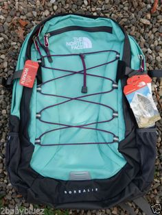 The-North-Face-Womens-Borealis-Backpack-Bookbag-Daypack-Brook-Blue-Grey-NWT-NEW
