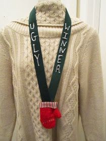 Using this to plan my Tacky Christmas Sweater Party--