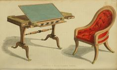 EKDuncan - My Fanciful Muse: Regency Furniture 1809 -1815: Ackermann's Repository Series 1
