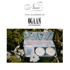 Niana now available at the recently launched, beautiful multi-designer store - OGAAN, Hyderabad !   #NianaAtOgaanHyderabad #OgaanLandsInHyderabad #NowAvailable #Ogaan #Candles #SoyCandles #ScentedSoyCandle #Ecofriendly #HomeFragrance #Fragrance #NianaHomeFragrance #Niana #Exotic #Relax #Handcrafted #HomeDecor