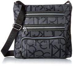 Calvin Klein Calvin Kelin Athleisure Nylon Organizational Crossbody Review Cross  Body Handbags cae6e42d7d1ed