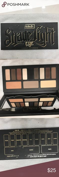 Kat Von D shade and light eye palette Authentic- KatVonD shade and light palette. Used but lots of product left. Nowhere near hitting pan. Mostly used the light peach, red brown, and medium brown. Selling because I just don't reach for it. Retails for $42. Makeup Eyeshadow