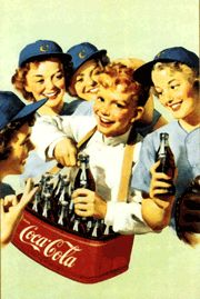 coca cola girls baseball ad Two of my favorite things.baseball and Coca-Cola Propaganda Coca Cola, Coca Cola Poster, Coca Cola Ad, Always Coca Cola, Pepsi, Coca Cola Vintage, Pub Vintage, Vintage Signs, Vintage Images