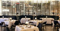 spago beverly wine display - Google Search Wine Wall, Luxury Real Estate, Wine Display, Fine Dining, Beverly Hills, Luxury Lifestyle, Table Decorations, Magazine, Places