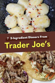 7 Tried-And-True Three-Ingredient Dinners I Make From Trader Joe's - You'll never believe these meals call for just three ingredients Trader Joe's, Trader Joes Food, Trader Joe Meals, 3 Ingredient Dinners, Sweet Potato Gnocchi, Cooking Recipes, Healthy Recipes, Diabetic Recipes, Healthy Meals