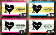 Double Sided Business Cards Design Digital File by CelebrationCity, $10.00 Celebration City, Double Sided Business Cards, Business Marketing, Business Card Design, Geometry, Holiday Cards, Classroom, Handmade Gifts, Math