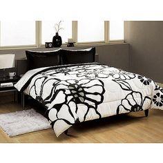 Modern Bloom Comforter Set - Walmart.com