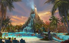 Volcano Bay Waterpark, Universal Orlando Resort