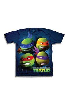 Teenage Mutant Ninja Turtles Faces Tee (Little Boys & Big Boys) by FREEZE on @HauteLook