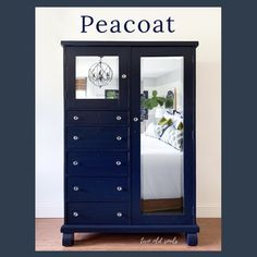 Country Chic Paint - Blues — Two Old Souls Dining Room Hutch, Dining Room Furniture, Blue Painted Furniture, Vintage Furniture, Midnight Sky, Paint Line, Modern Dresser, Old Soul, Shades Of White