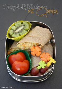 Buchweizencrepe mit Quinoa