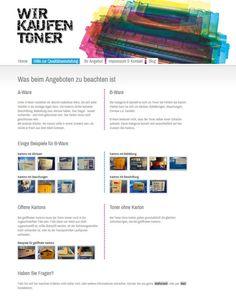 Neue Hilfeseite zur Qualtätseinstufung der Tonerrestposten  http://www.wir-kaufen-toner.de/hilfe-zur-qualitaetseinstufung
