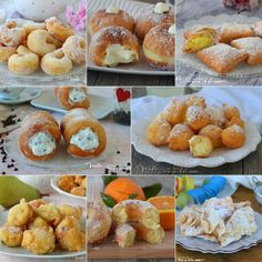 DOLCI DI CARNEVALE GOLOSI castagnole chiacchiere frittelle Healthy Fats, Healthy Choices, Snack Recipes, Snacks, Mini Desserts, Vegetable Dishes, Italian Recipes, Mousse, Cravings