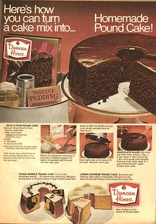 Cake Mix Pound Cake, No Bake Cake, Box Cake, Cupcakes, Cupcake Cakes, Devils Food, Cake Mix Recipes, Pound Cake Recipes, Cake Mixes