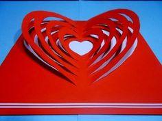 Jak zrobić kartkę Walentynkową #3 - YouTube