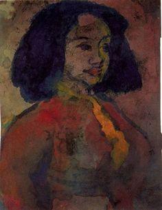Emil Nolde - Spanish Woman