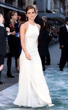 Emma Watson Style Best Dresses & fashion Outfits. | Grazia Fashion