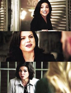 #OnceUponATime #Regina #Faces  always live your life with truth and there will be no need for secrets