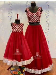 Mom Daughter Matching Dresses, Teja Sarees, Baby Lehenga, Kids Frocks Design, Frock Design, Family Outfits, Baby Girl Dresses, Designer Dresses, Fashion Dresses